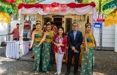 Kuliner dan Tari Indonesia Ramaikan Embassy Festival di Belanda